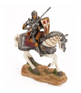 Figure shield knight of Malta, 10 cm.