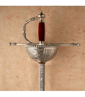 Sword of Carlos V silver bowl