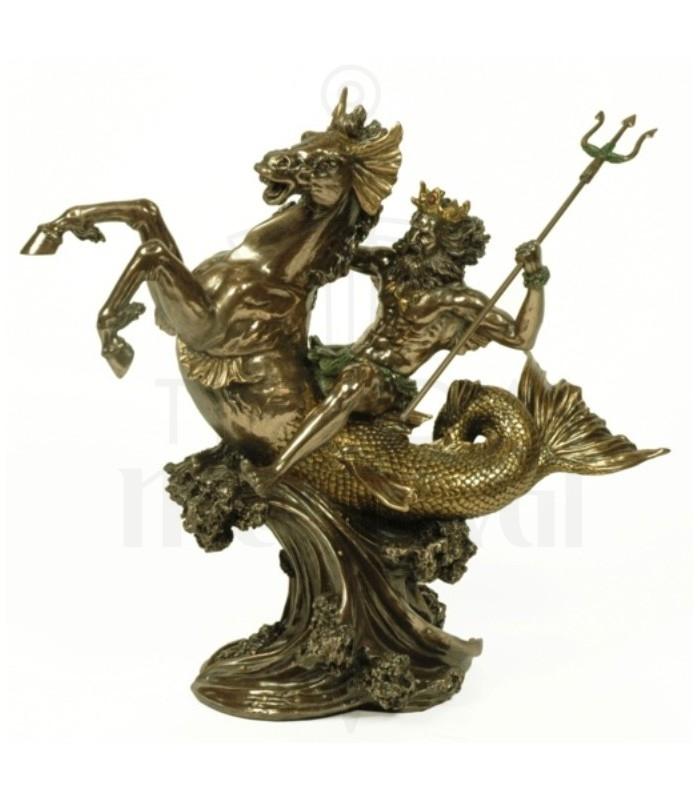 Figure Greek God Of The Sea Poseidon 30 Cms
