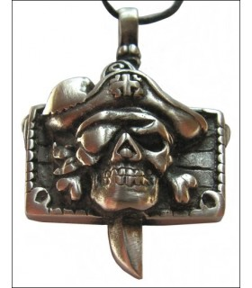 Pirate head pendant