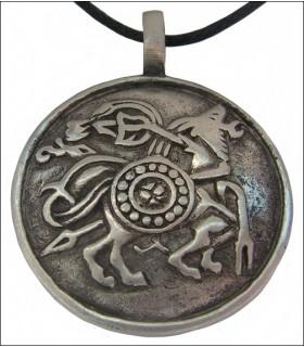 Pendant Viking symbols