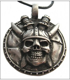 Viking pendant head