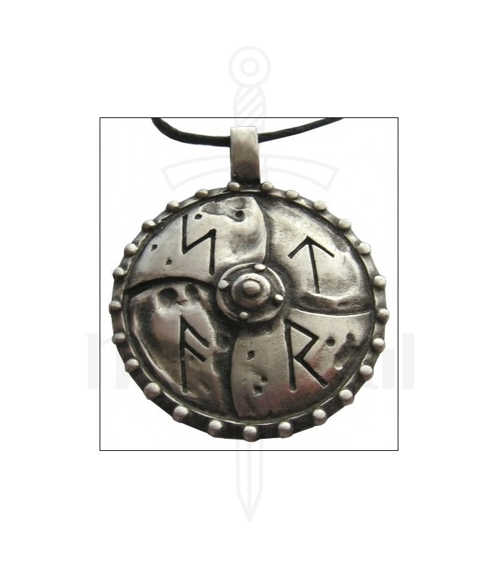 Viking pendant with runic letters medieval shop viking pendant with runic letters aloadofball Choice Image