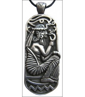 Egyptian pendant sitting