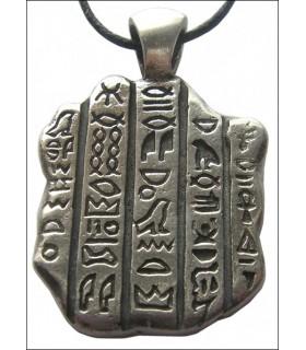 Egyptian stone pendant Rosatta