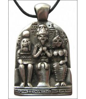 Egyptian pendant triad
