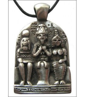 Egyptian pendant triad
