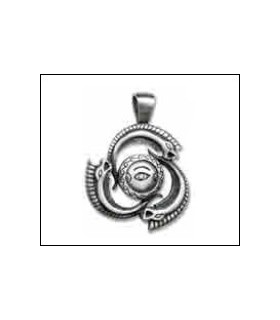 Greek symbol pendant