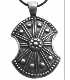 Trojan shield pendant