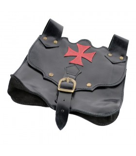 Red Cross Templar bag Pate