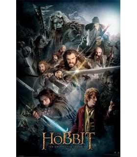 Poster The Hobbit, An Unexpected Journey, 61x91 cms.