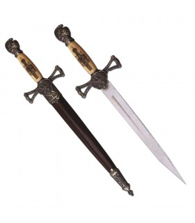 Medieval Dagger with Sheath (35 cms.)