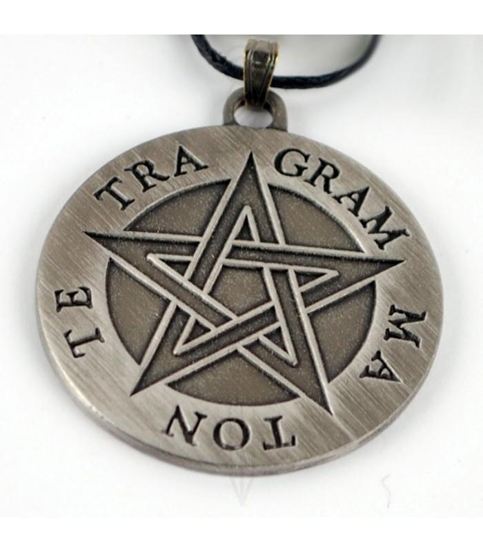 Tetragrammaton pentagram pendant medieval shop tetragrammaton pentagram pendant aloadofball Choice Image