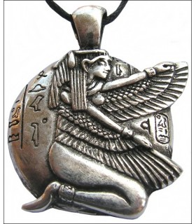 Egyptian Pendant Winged Isis