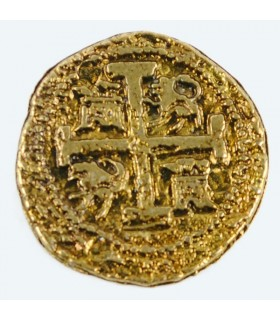 Coin 2 Golden Shield, doubloon