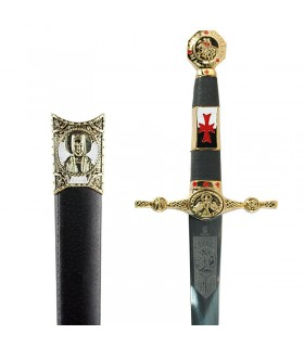 Templar dagger decorated