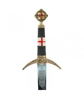 Robin Hood Dagger decorated