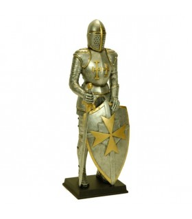 Figure Templar warrior with sword