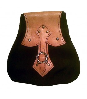 Celtic Style Bag Black-Brown