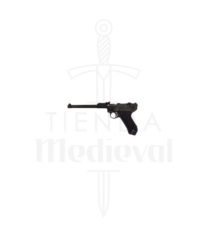 Gun Artillery Luger P08 model