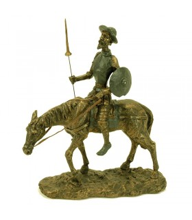 Figure Don Quixote on horseback