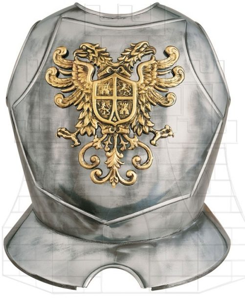 Breastplate with Eagle Toledo chiseled