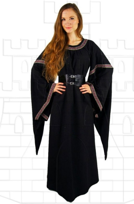 Vestido medieval mujer Ida - Medieval costumes and accessories