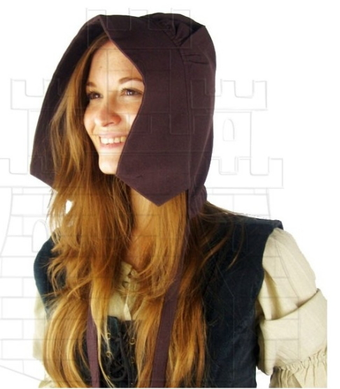 Crespina medieval de mujer campesina - Medieval costumes and accessories