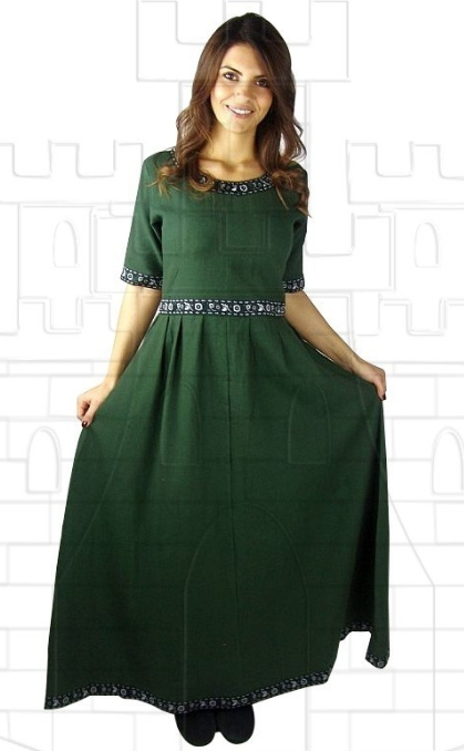 Vestido medieval mujer Enin - Medieval costumes and accessories
