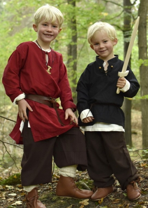 Camisa medieval niño Colin - Medieval clothing for Women, Men and Kids