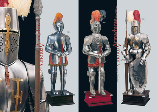 Medieval armors made in Toledo (Spain)